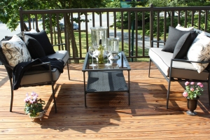 Master Bedroom Deck ~ Sue Womersley Decorator