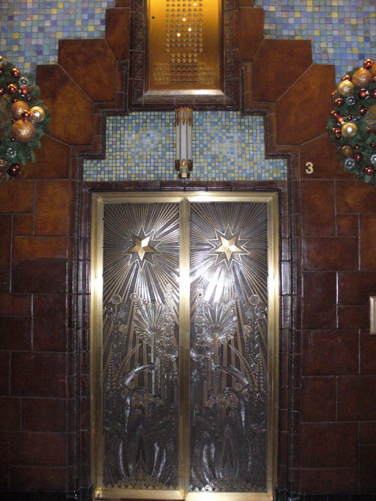Marine Building Elevator (photo Sue Womerlsey)