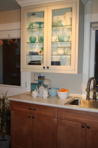 Highlight Display Cabinets with good lighting