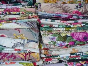 Barkcloth ~ check back for post on vintage fabric