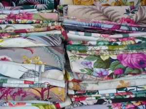 Fabulous Colourful Barkcloth