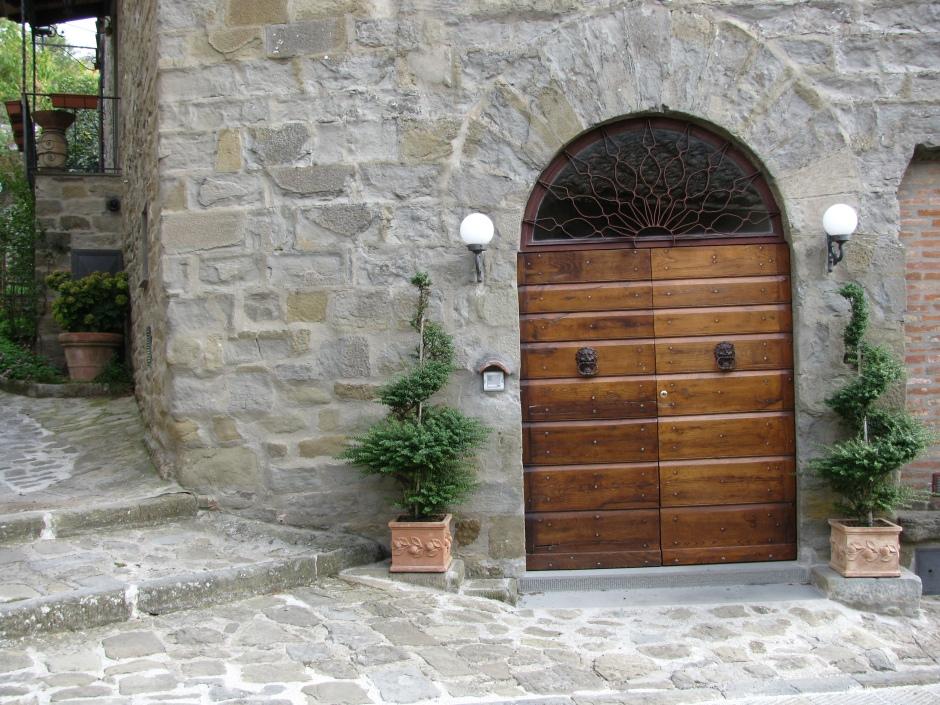 Cortona front door