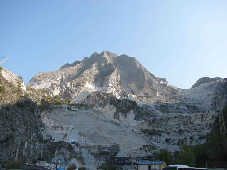 Carrara manufactured landscape beauty