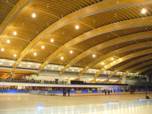 Olympic Speed Skating Oval - photo Sue Womersley