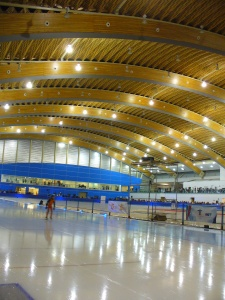 Olympic Speed Skating Oval ~ photo Sue Womersley