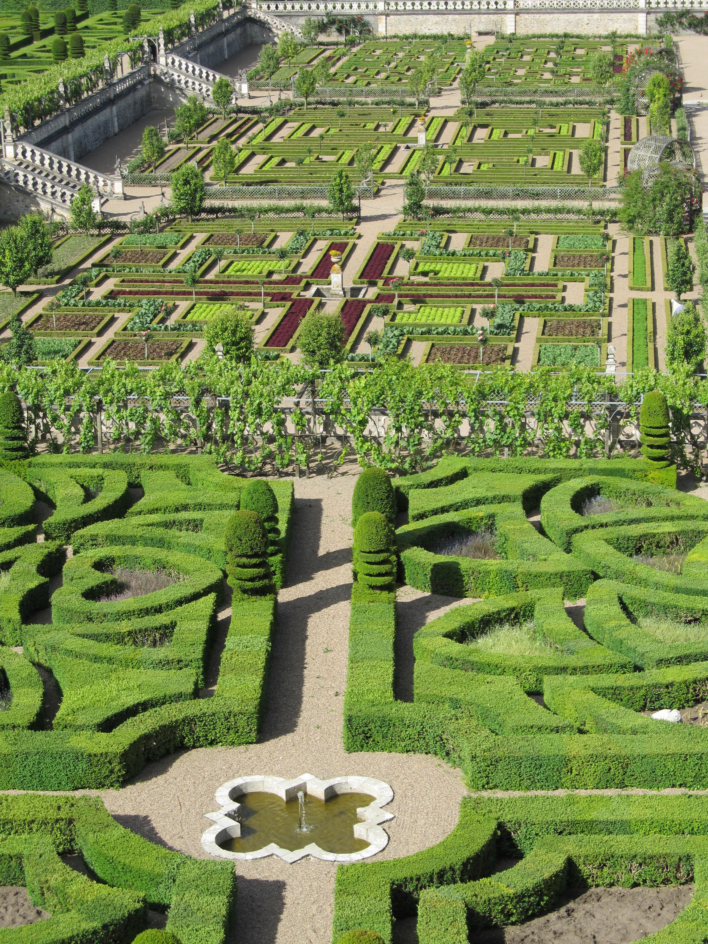 France finest formal garden villandry decorata design musing for Jardin design