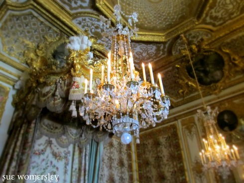 Versailles Chandeliers photo sue womersley