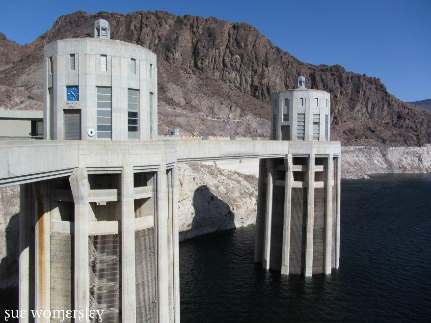 Nevada side Hoover dam