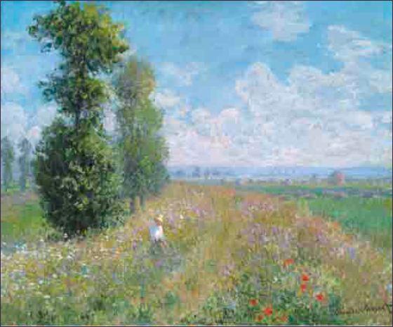 Monet Poplars