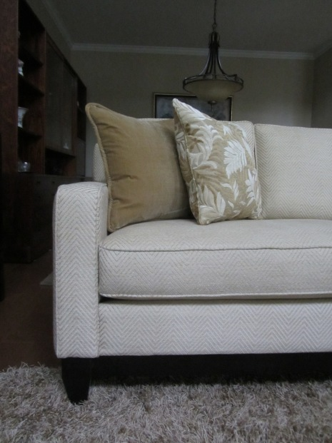 Morgan Creek custom sofa
