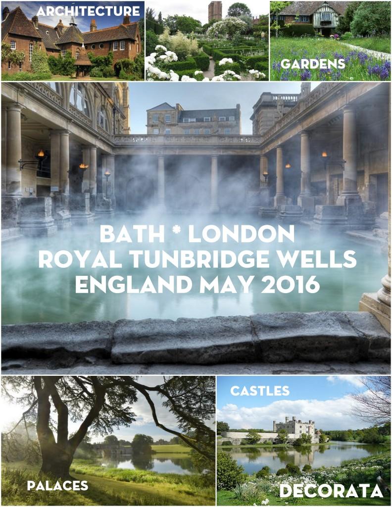 Stately Homes Tour England 2016