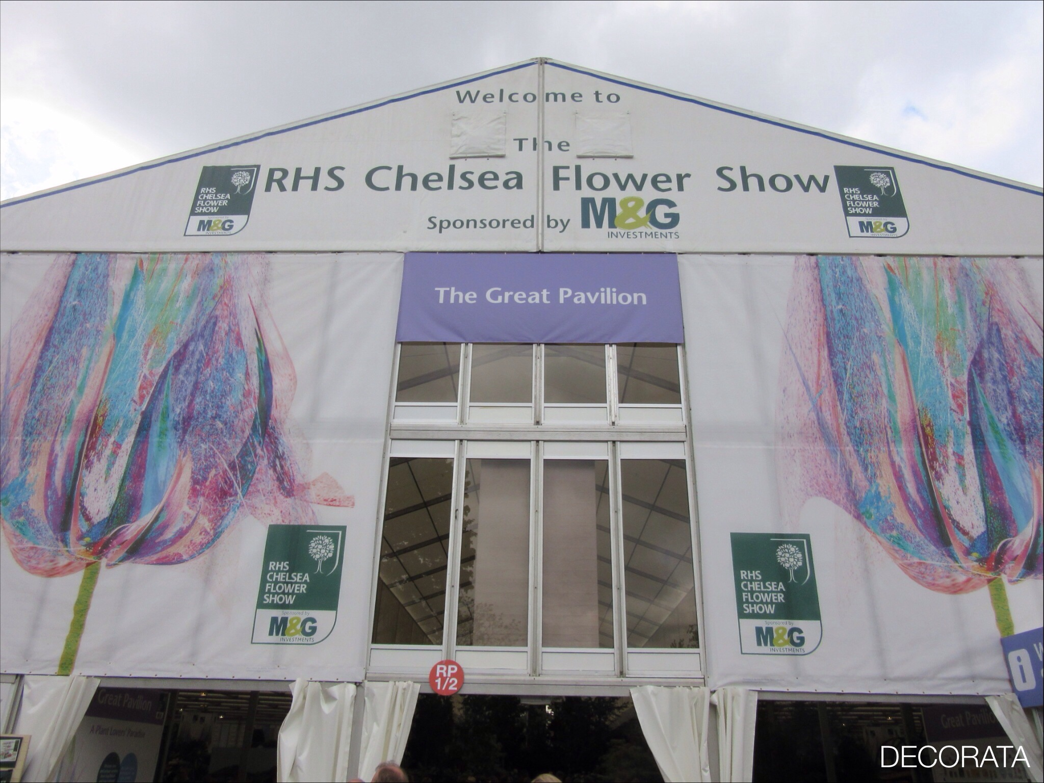 RHS Chelsea Flower Show, Great Pavillion, Decorata Design, sue womersley