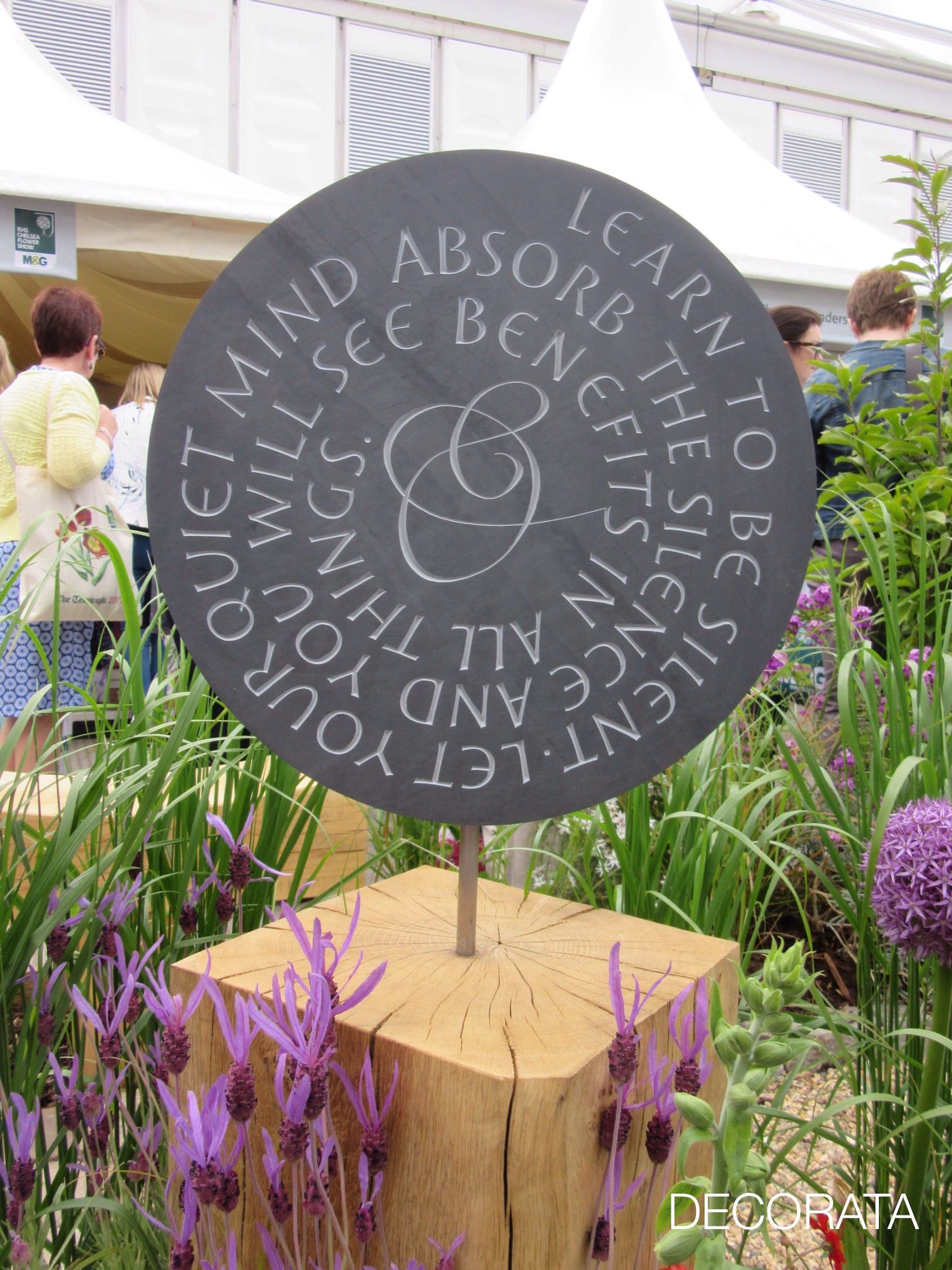 RHS Chelsea Flower Show, Decorata Design, sue womersley