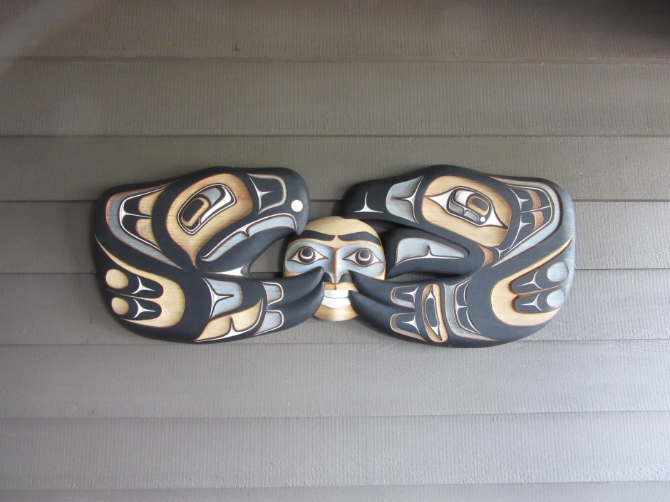 Yellow Cedar Native carving