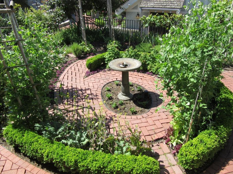 sundial garden