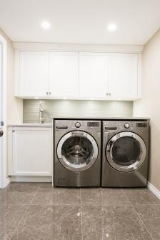 Delta Laundry room