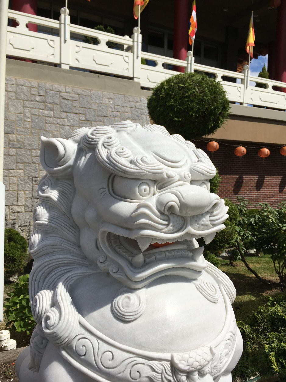 foo dog buddist temple