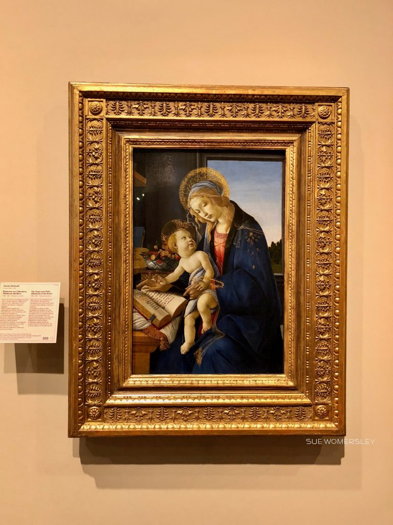 Botticelli Virgin and Child Milan Poldi Pezzoli